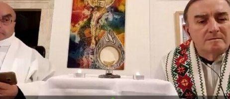 Adorazione eucaristica Ascoli Piceno del 14 marzo 2020